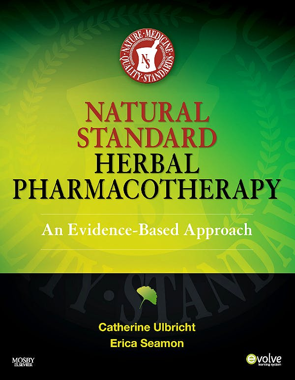Portada del libro 9780323051842 Natural Standard's Herbal Pharmacotherapy. an Evidence-Based Approach