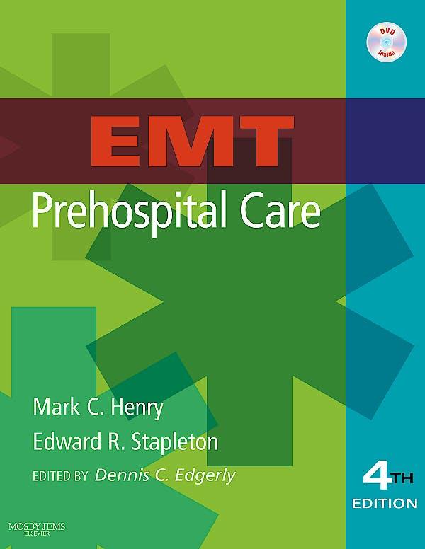 Portada del libro 9780323055475 Emt Prehospital Care