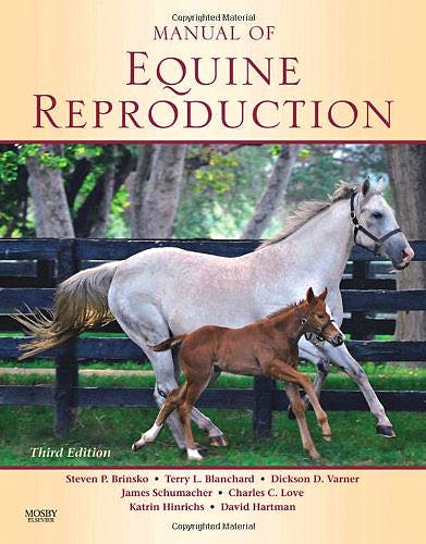 Portada del libro 9780323064828 Manual of Equine Reproduction