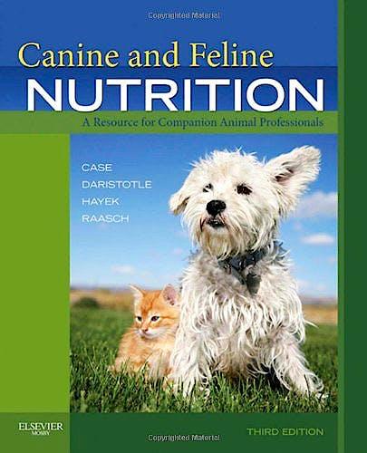 Portada del libro 9780323066198 Canine and Feline Nutrition. a Resource for Companion Animal Professionals