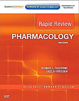Portada del libro 9780323068123 Rapid Review Pharmacology with Student Consult Online Access