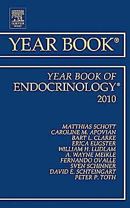 Portada del libro 9780323068307 Year Book of Endocrinology 2010