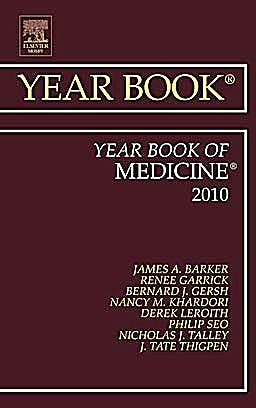 Portada del libro 9780323068338 Year Book of Medicine 2010