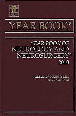 Portada del libro 9780323068352 Year Book of Neurology and Neurosurgery 2010