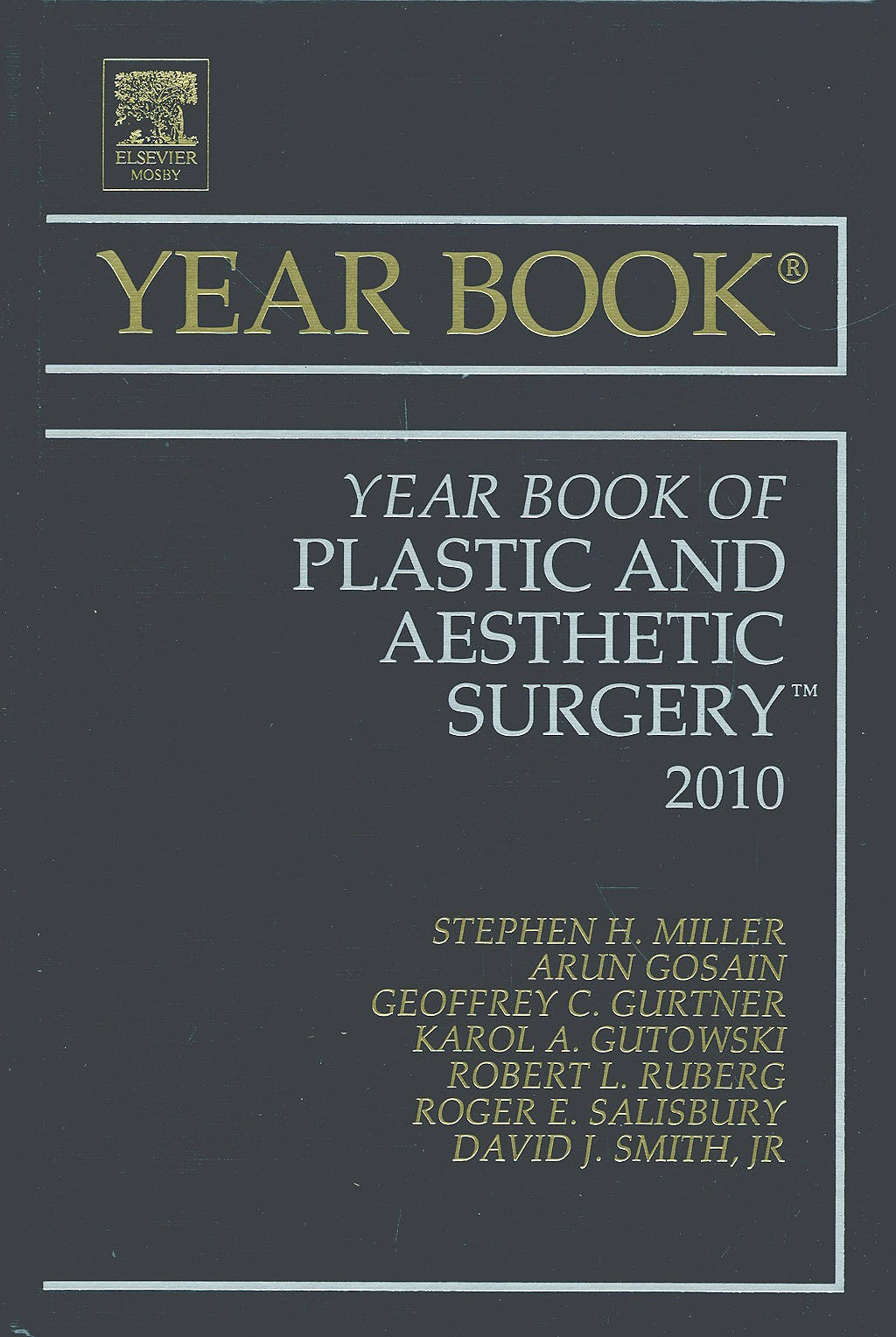 Portada del libro 9780323068437 Year Book of Plastic and Aesthetic Surgery 2010