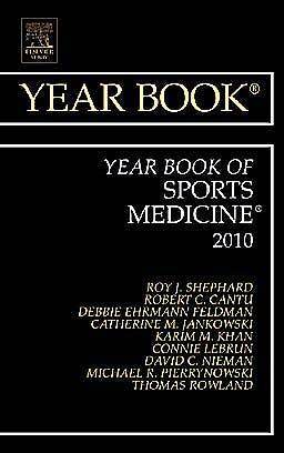 Portada del libro 9780323068468 Year Book of Sports Medicine 2010
