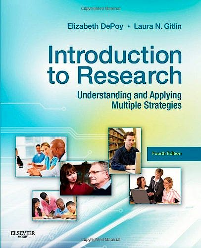Portada del libro 9780323068543 Introduction to Research. Understanding and Applying Multiple Strategies