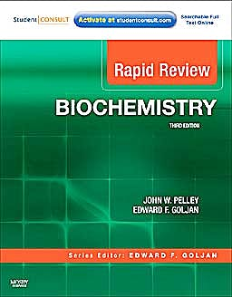 Portada del libro 9780323068871 Rapid Review Biochemistry with Student Consult Online Access