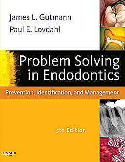 Portada del libro 9780323068888 Problem Solving in Endodontics. Prevention, Identification and Management