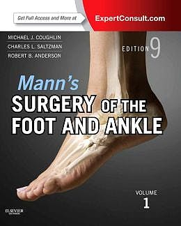 Portada del libro 9780323072427 Mann's Surgery of the Foot and Ankle Premium Edition, 2 Vols. (Online and Print)