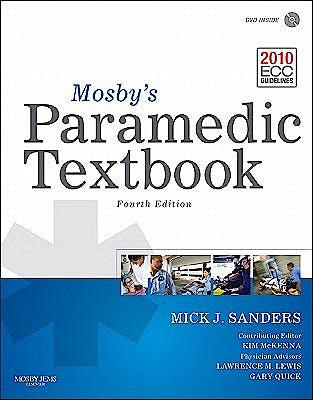 Portada del libro 9780323072755 Mosby's Paramedic Textbook + Dvd