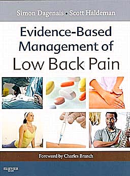 Portada del libro 9780323072939 Evidence-Based Management of Low Back Pain