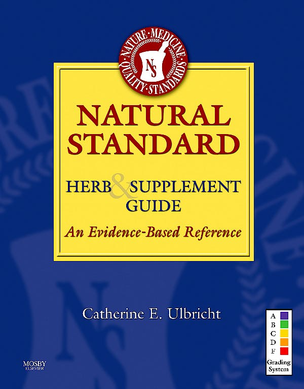 Portada del libro 9780323072953 Natural Standard. Herb & Supplement Guide: An Evidence-Based Reference