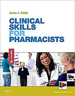 Portada del libro 9780323077385 Clinical Skills for Pharmacists. A Patient-Focused Approach