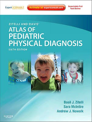 Portada del libro 9780323079327 Zitelli and Davis' Atlas of Pediatric Physical Diagnosis (Online and Print)