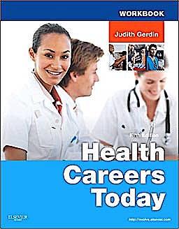 Portada del libro 9780323079952 Workbook for Health Careers Today