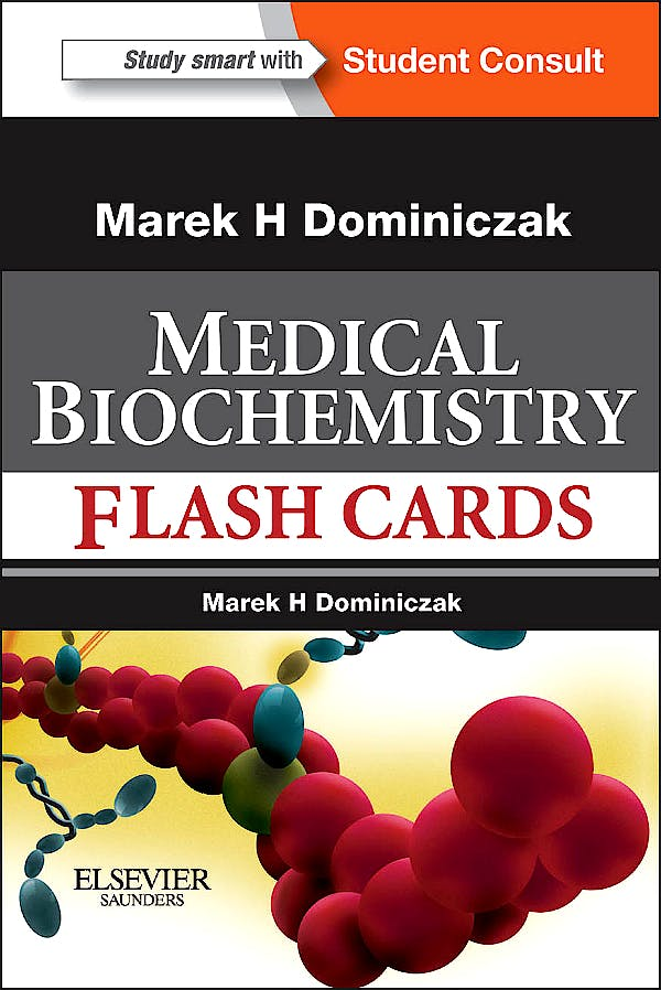 Portada del libro 9780323081931 Baynes and Dominiczak's Medical Biochemistry Flash Cards + Online Access