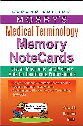 Portada del libro 9780323082730 Mosby's Medical Terminology Memory Notecards