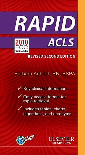 Portada del libro 9780323083201 Rapid Acls - Revised Reprint