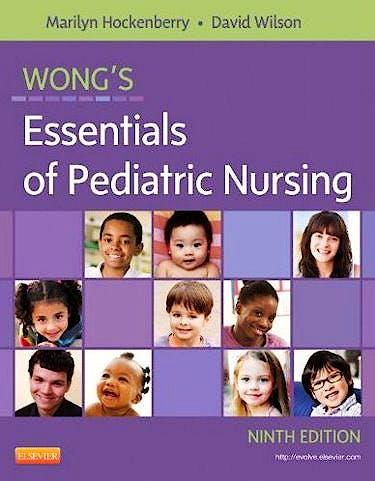 Portada del libro 9780323083430 Wong's Essentials of Pediatric Nursing