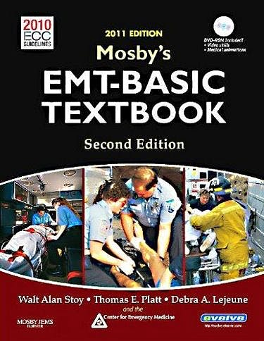 Portada del libro 9780323085298 Mosby's Emt-Basic Textbook + Dvd