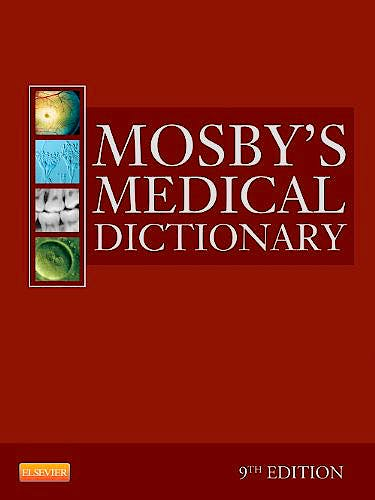 Portada del libro 9780323085410 Mosby's Medical Dictionary