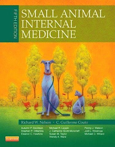 Portada del libro 9780323086820 Small Animal Internal Medicine