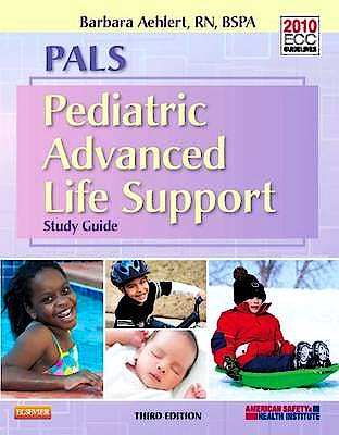 Portada del libro 9780323086882 Pals. Pediatric Advanced Life Support. Study Guide