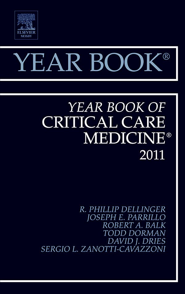 Portada del libro 9780323088756 Year Book of Critical Care Medicine 2012