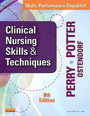 Portada del libro 9780323088985 Skills Performance Checklists for Clinical Nursing Skills and Techniques