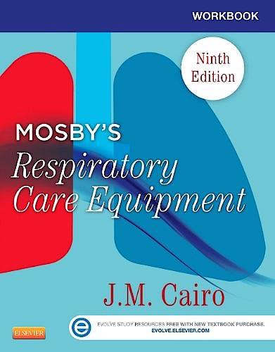 Portada del libro 9780323096225 Workbook for Mosby's Respiratory Care Equipment