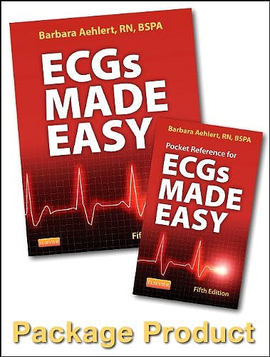 Portada del libro 9780323101066 Ecgs Made Easy - Book and Pocket Reference Package