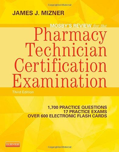 Portada del libro 9780323113373 Mosby's Review for the Pharmacy Technician Certification Examination