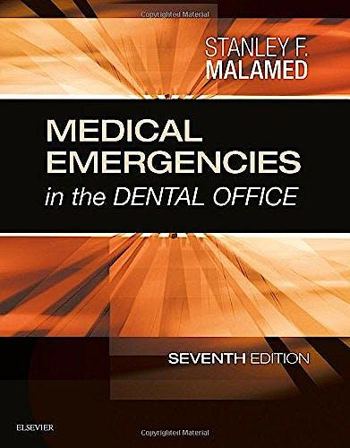Portada del libro 9780323171229 Medical Emergencies in the Dental Office