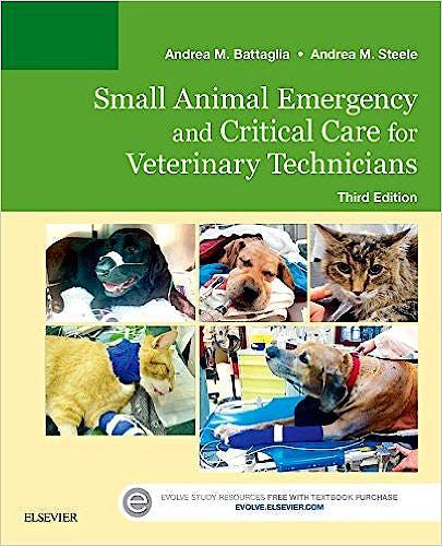 Portada del libro 9780323227742 Small Animal Emergency and Critical Care for Veterinary Technicians