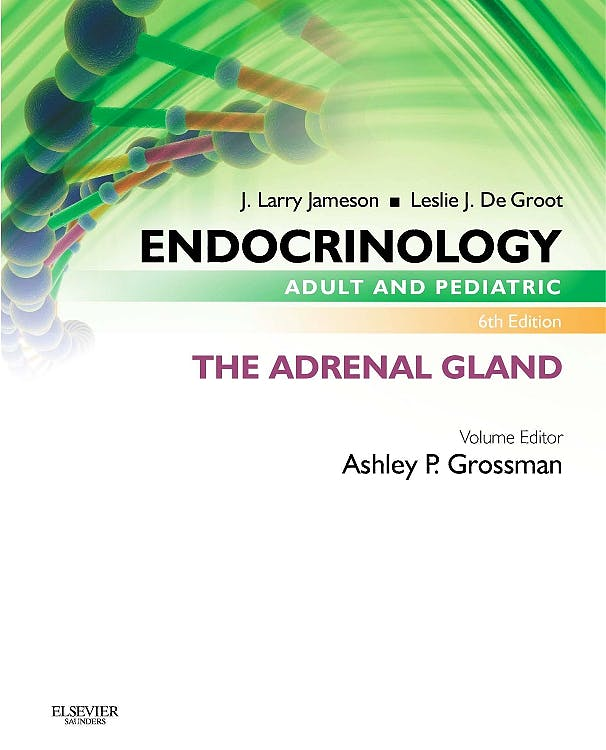 Portada del libro 9780323240598 Endocrinology. Adult and Pediatric: The Adrenal Gland