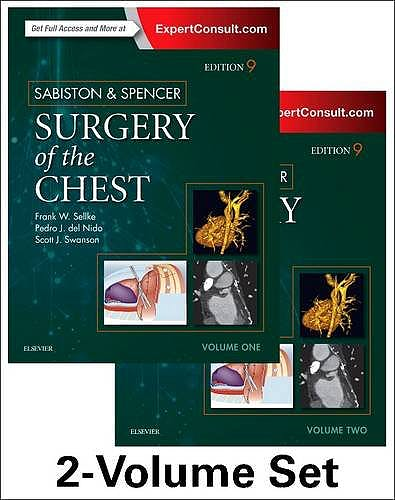 Portada del libro 9780323241267 SABISTON AND SPENCER´S Surgery of the Chest (2 Volume Set)