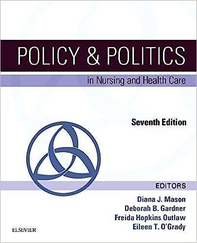 Portada del libro 9780323241441 Policy and Politics in Nursing and Health Care