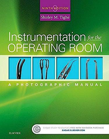 Portada del libro 9780323243155 Instrumentation for the Operating Room. a Photographic Manual