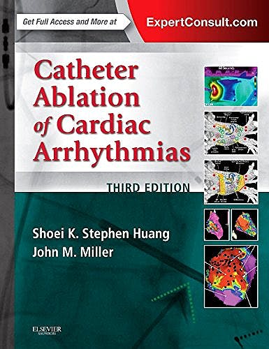 Portada del libro 9780323244299 Catheter Ablation of Cardiac Arrhythmias (Online and Print)