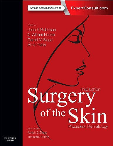 Portada del libro 9780323260275 Surgery of the Skin. Procedural Dermatology (Online and Print)