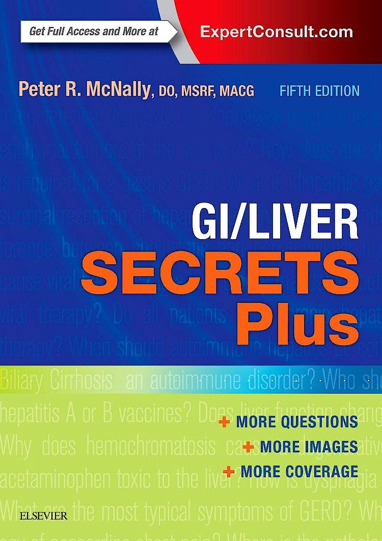 Portada del libro 9780323260336 Gi/liver Secrets plus (Online and Print)