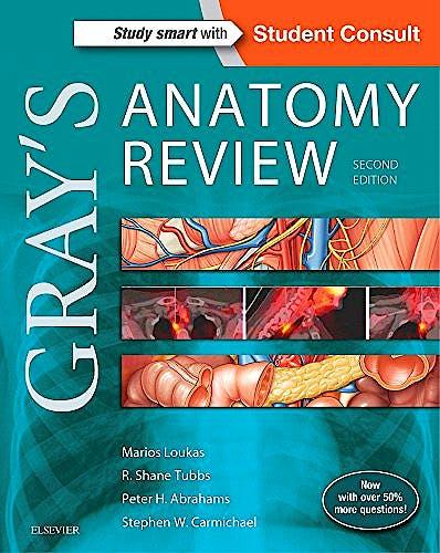 Portada del libro 9780323277884 GRAY's Anatomy Review