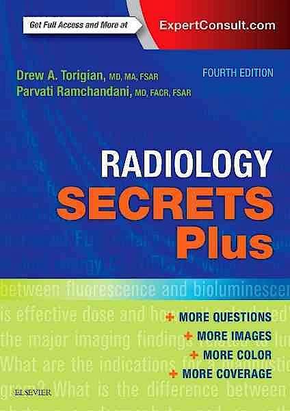 Portada del libro 9780323286381 Radiology Secrets plus (Online and Print)