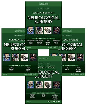 Portada del libro 9780323287821 Youmans and Winn Neurological Surgery, 4 Vols.