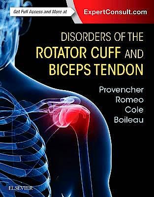 Portada del libro 9780323287845 Disorders of the Rotator Cuff and Biceps Tendon. The Surgeon's Guide to Comprehensive Management