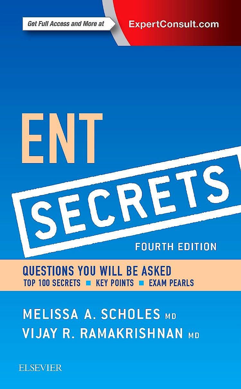Portada del libro 9780323298568 Ent Secrets