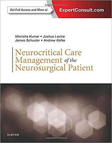 Portada del libro 9780323321068 Neurocritical Care Management of the Neurosurgical Patient (Online and Print)