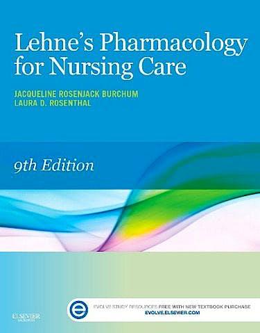 Portada del libro 9780323321907 Lehne's Pharmacology for Nursing Care