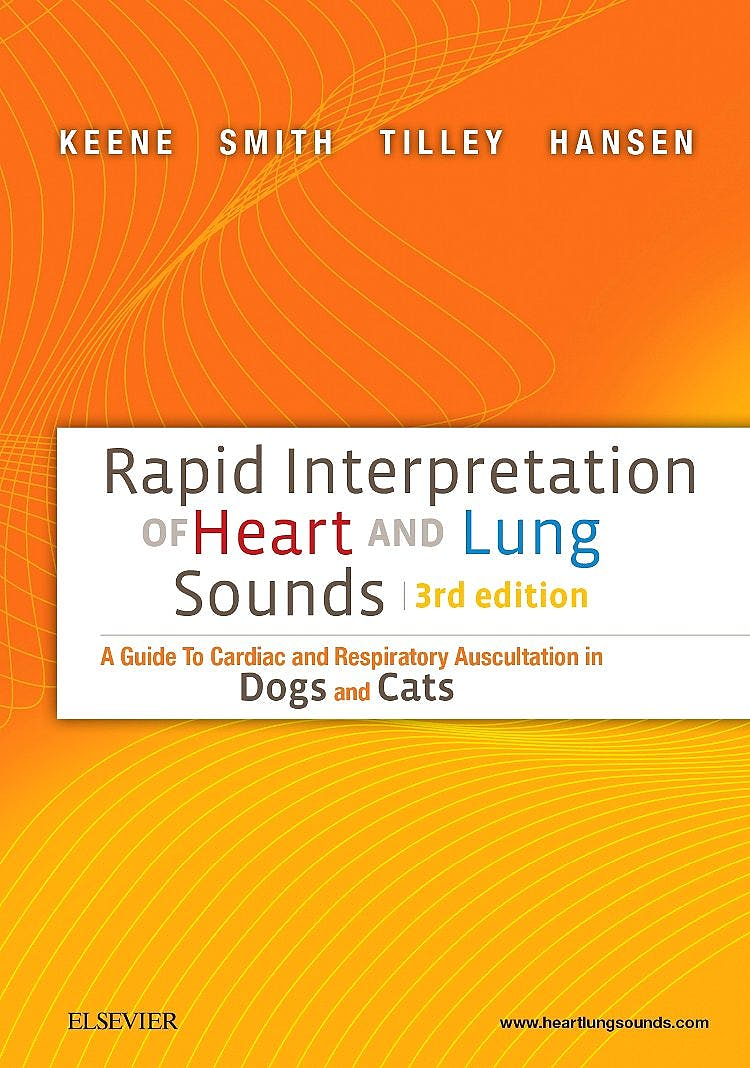 Portada del libro 9780323327077 Rapid Interpretation of Heart and Lung Sounds. a Guide to Cardiac and Respiratory Auscultation in Dogs and Cats + Audio Cd